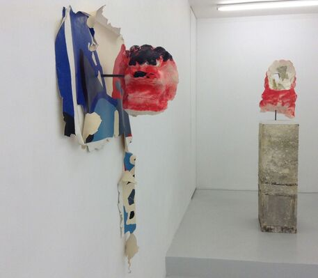 Ame prise, installation view