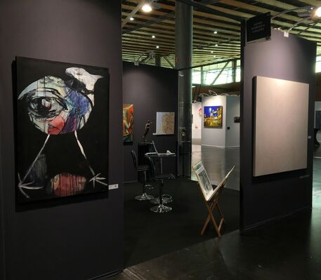 Agnès Szaboova Gallery at Art Up ! Lille 2019, installation view