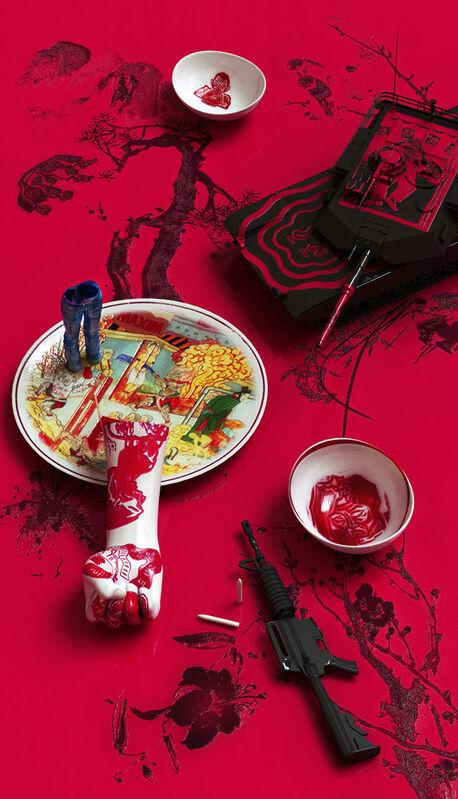 Kim Joon, 'Blue Jean Blues - O Yun', 2012, Photography, Digital print, Sundaram Tagore Gallery