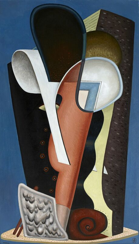 J.W. Power, 'Head (Tête) ', 1930, Painting, Oil on canvas, National Gallery of Victoria