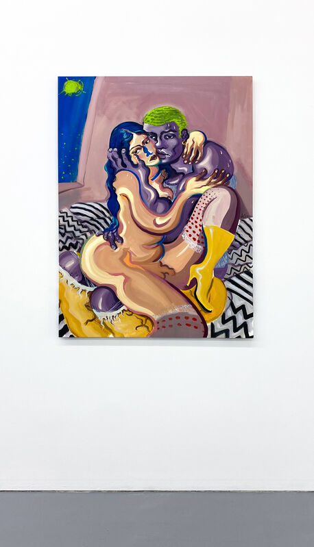 Giorgio Celin, 'La pequeña alcoba (sombras)', 2021, Painting, Oil on canvas, Breach