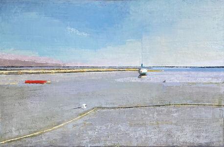 John Evans, 'Canoe & Sailboat', 2007