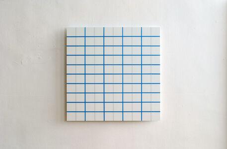 Winston Roeth, 'Light Blue Square Grid', 2006
