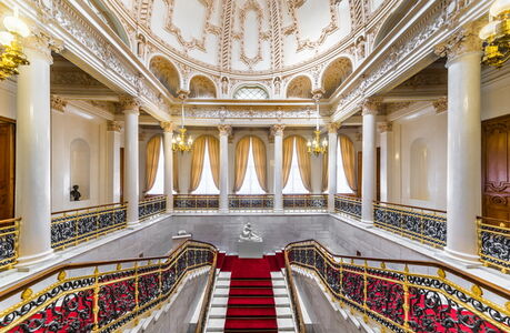House of Fabergé, 'Fabergé Museum in St. Petersburg, The Grand Staircase'