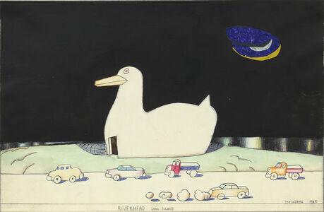 Saul Steinberg, 'Riverhead, Long Island', 1985