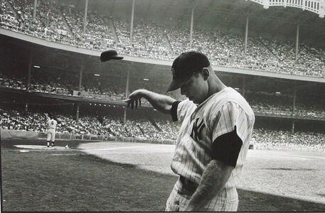 John Dominis, 'Mickey Mantle Having a Bad Day at Yankee Stadium', 1965