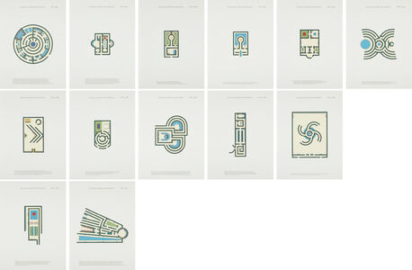 Jan Vercruysse, 'Labyrinths and Pleasure Gardens', 2002