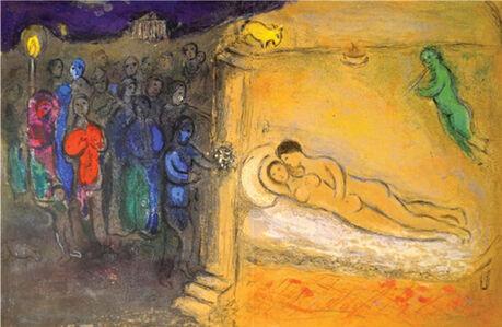 Marc Chagall, 'The Wedding Night', 1961