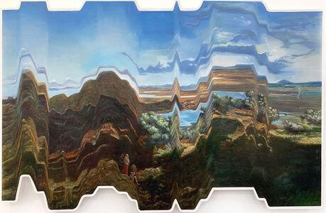 Ciler, 'Espejismos del Paisaje Mexicano (Un Estudio sobre Valle de México desde el cerro de Santa Isabel de José María Velasco)', 2020