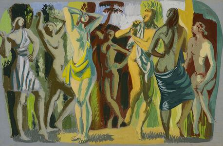 Hans Feibusch, 'The Dance', ca. 1950