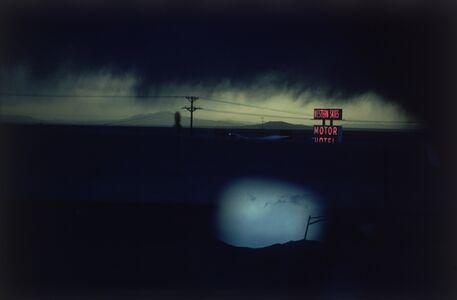 Ernst Haas, ' Western Skies Motel. Colorado', 1978