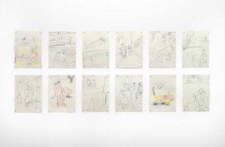 Chris Newman, 'Zeichnungen', 2019