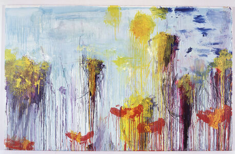 Cy Twombly, 'Lepanto VII', 2001