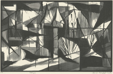 Bernard Brussel-Smith, 'Collonges Shapes', 1961