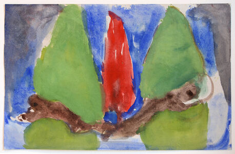 John Benicewicz, 'Untitled (Red and Green)', 2015