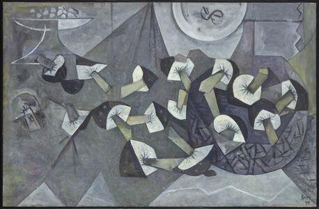 Francisco Bores, 'Les champignons', 1949