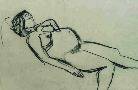 Peter Lanyon, 'Pregnant Nude'