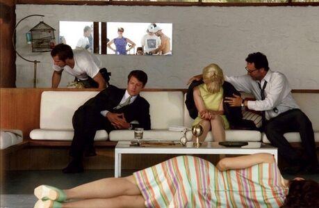 Rufus Corporation, 'Marilisa on the floor', 2005