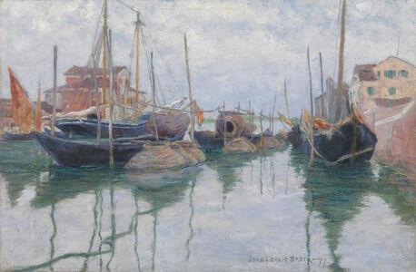 John Leslie  Breck, 'Giudecca Canal, Venice', 1897