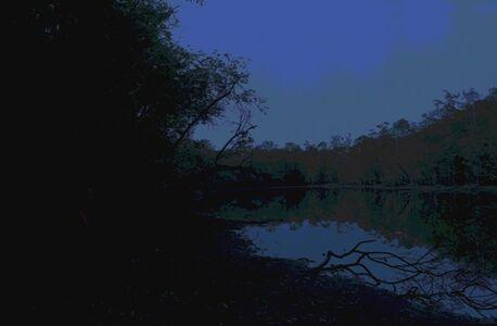 Julien Bismuth, 'Steganogram XX (une image bleue)', 2016