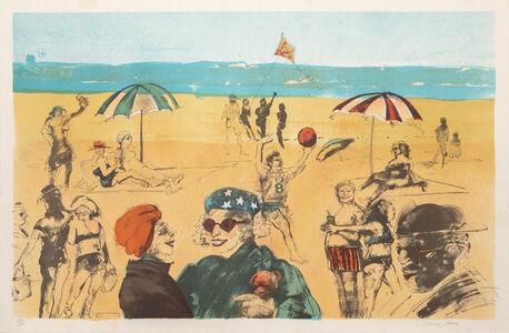 Marcia Marx, 'Beach', ca. 1975