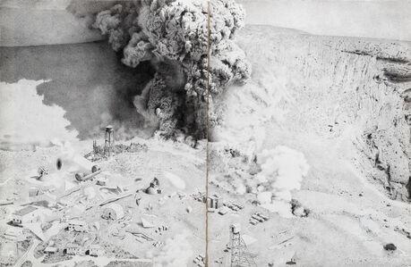 Santiago Talavera, 'Felices eran aquellos que habitaban dentro del ojo de los volcanes', 2019