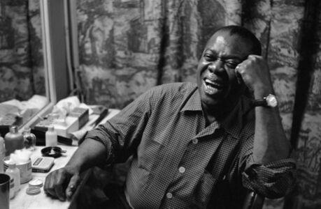 Henri Dauman, 'Louis Armstrong, NYC, 1958'