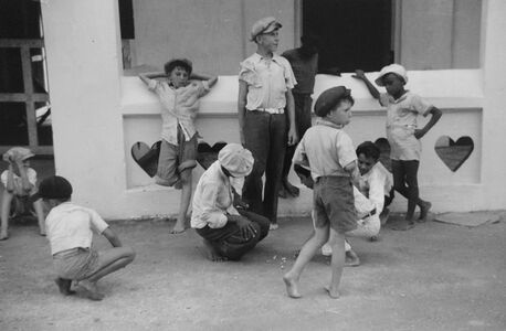 Jack Delano, 'Children Playing Marbles, St. Thomas, U.S. Virgin Islands', 1941