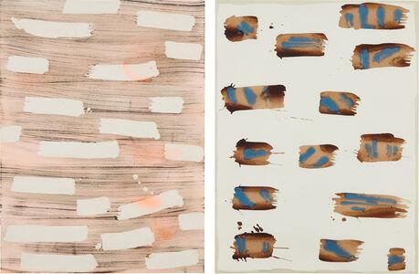 Rebecca Morris, 'Two works: (i) Untitled (#152-02); (ii) Untitled (#102-13)', (i) 2002; (ii) 2013