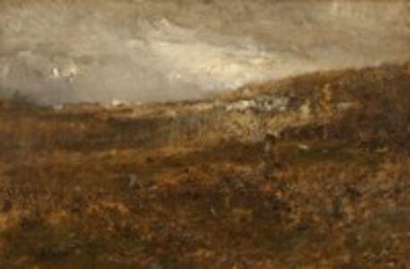 Alexander Helwig Wyant, 'Gray Hills', 1879