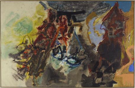 Friedel Dzubas (1915-1994), 'Over the Hill', 1957