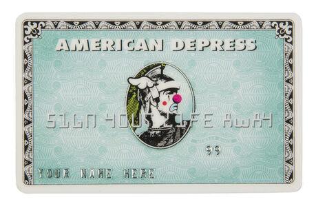 D*Face, 'American Depress MonsterCard', 2008