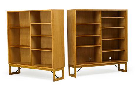 Börge Mogensen, 'Pair of bookcases', 1950s