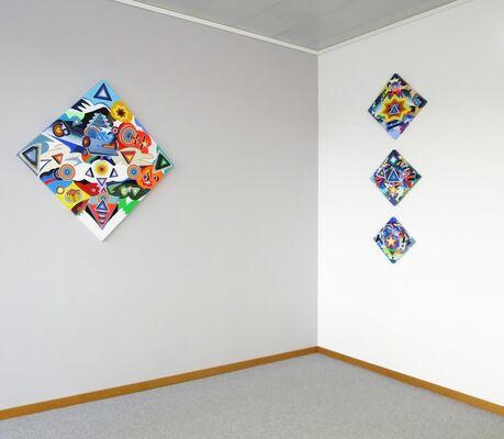 David Gaither Look a Little Closer, installation view