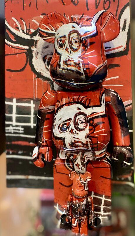 Jean-Michel Basquiat, 'Basquiat Bearbrick 400% Companion (Basquiat BE@RBRICK)', 2019, Ephemera or Merchandise, Vinyl Figure, Lot 180