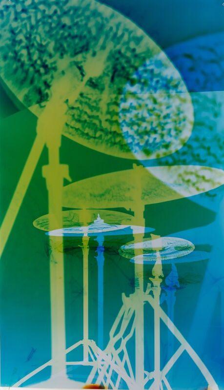 Farrah Karapetian, 'Soundscape 40', 2015, Photography, Unique chromogenic photogram from constructed negative, metallic, Danziger Gallery