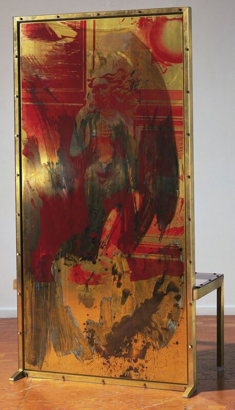 Robert Rauschenberg, 'Borealis Shares II', 1990, Sculpture, Screenprinted brass/handpainted patinas by artist, Gemini G.E.L. at Joni Moisant Weyl
