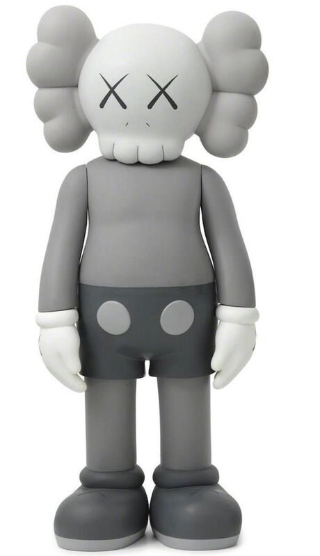 KAWS, '4Ft Companion (Grey)', 2007, Sculpture, Painted Cast Vinyl; Incised 'Medicom Toy 2007 KAWS 07' to the underside of the feet, Pop Fine Art