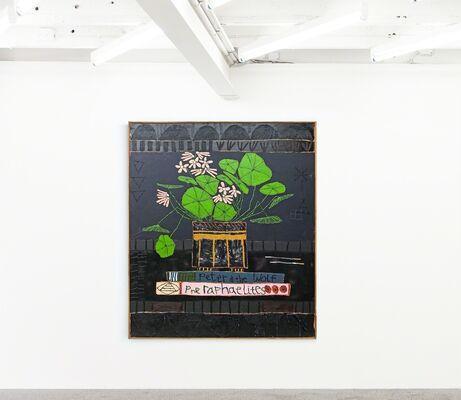 Micro | Macro: Paintings of Love & Hate, installation view