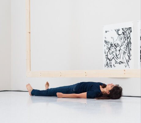 Dying is a Solo. Yael Davids, installation view