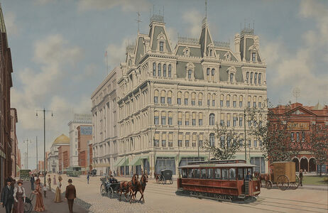 Thomas Colletta, 'Main Street, Buffalo, New York, 1905', 1905
