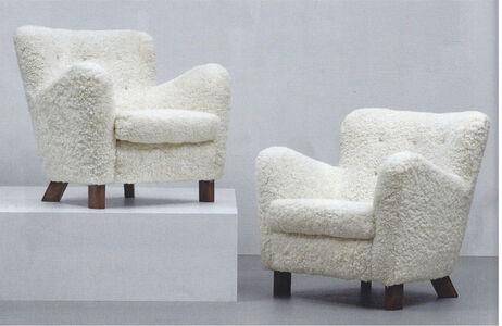 Fritz Hansen, 'Pair of armchairs, model no. 1669', ca. 1960
