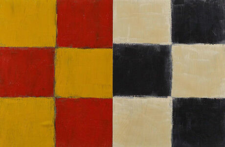 Sean Scully, 'Small Union Yellow', 1997