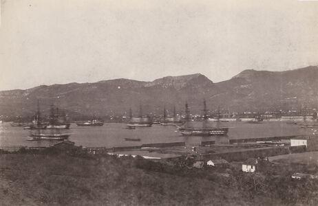 Charles Nègre, 'Toulon, la rade et l'escadre (Harbor and Fleet at Toulon, France)', 1852/1852