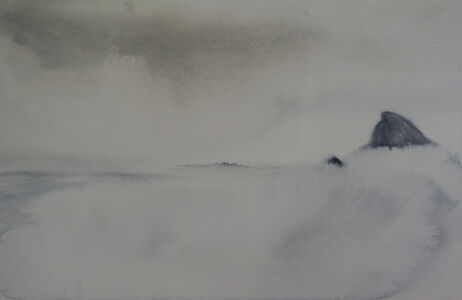 Thiago Rocha  Pitta, 'Neblina em Bedróqui [Misty Badrock]', 2019
