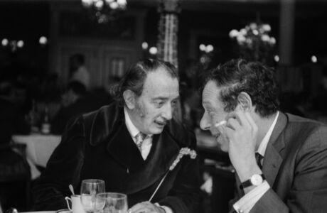Milton Gendel, 'Salvador Dali and Tom Hess, Paris', 1970