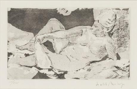 Isabel Bishop, 'Nude', 1961
