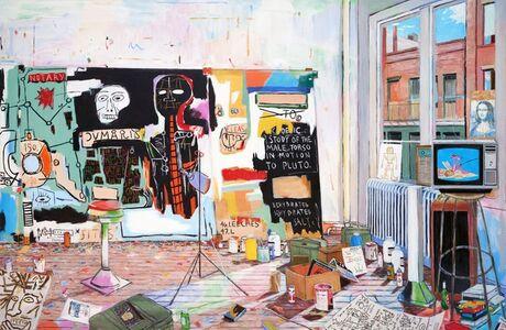 Damian Elwes, 'Basquiat's Studio on Crosby Street ', 2020