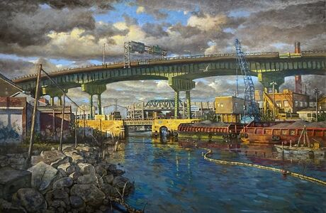 Derek Buckner, 'View of Ninth Street Bridge, Afternoon'