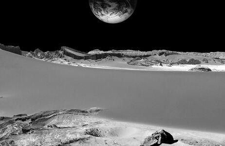 Michael Najjar, 'moon mining', 2016
